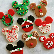 themed christmas the partiologist disney themed christmas cookies