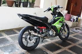 Modifikasi mobil dan motor motor jupiter mx modif 5 motorblitz motor jupiter mx modif 5