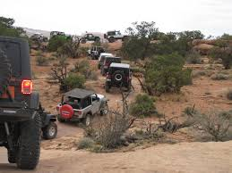 moab jeep trails team 4 wheel parts day 3 at the easter jeep safari in moab utah