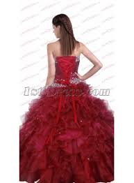 new sweetheart quinceanera dresses burgundy 1st dress com