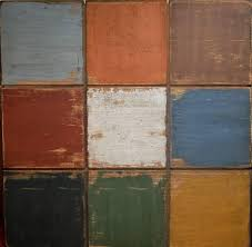 from top left to right slate pumpkin brown from middle left