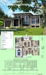 architectural designs house plans plan 90277pd exciting contemporary house plan modern house