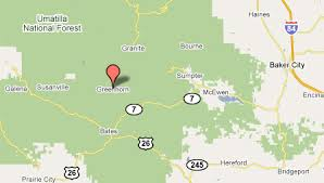 map of oregon gold mines grant county gold oregon gold