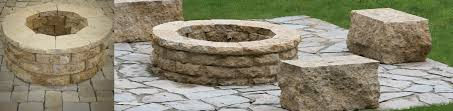 Stone Fire Pit Kit by Project Spotlight U2013 Watkins Concrete Block