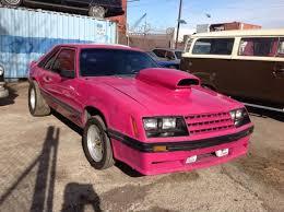 1982 ford mustang hatchback ford mustang hatchback 1982 pink for sale 1fabp16f8cf149169 1982