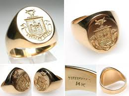 signet ring men the 25 best mens gold signet rings ideas on