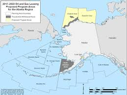 Uaa Map Outer Continental Shelf Oil And Gas Leasing A Review Of The