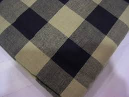 Black Tan Curtains Ihf Black And Tan Buffalo Check Vanance U0026 Tiers Ihf Curtains