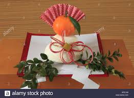 Japanese New Year Decorations Kagami Mochi by Japan Kagami Mochi Rice Cake New Year U0027s Offering Festival