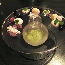 blueberry alinea restaurant haute cuisine great hotel foods