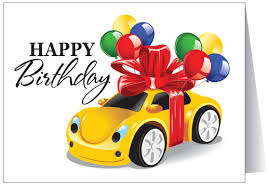 happy birthday to your car 12063 harrison greetings business