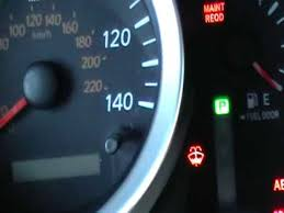 how to reset maintenance light on 2007 toyota highlander hybrid toyota highlander maint reqd light reset instructions vehix411
