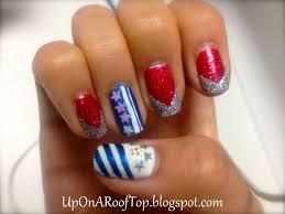 fourth of july nails design nail art