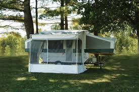 Rv Awning Screen Room 2007 Forest River Rockwood Tent Trailer Rvweb Com