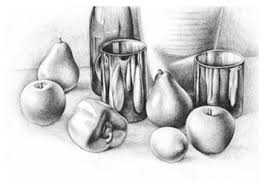 still life techniques pencil drawing creati