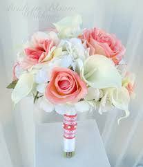 bouquets for weddings coral bouquets weddings wedding corners