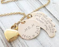 personalized memorial necklace personalized memorial necklace