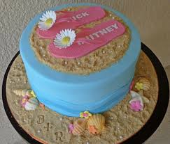 themed cakes themed cakes sun sand surf a craftsy cake roundup