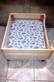 Upcycled Drawer Pet Bed Diy by Upcycled Wood Pallet Dog Bed 99 Pallets