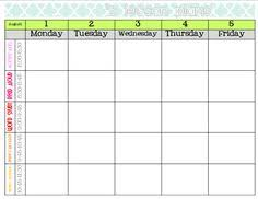 this is a great lesson plan template save for next year