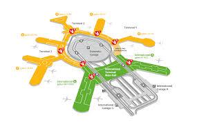 mco terminal map security san francisco international airport