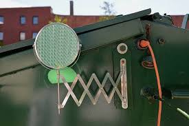 Outdoor Shower Mirror - a mirror for the outdoor shower and electrical input on the u0027home