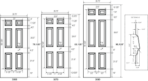 Standard Interior Door Size Standard Bedroom Door Size Standard Interior Door Sizes