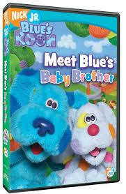 blue u0027s clues blue u0027s room meet baby brother dvd free shipping