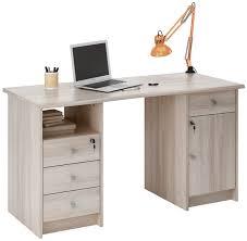 meubles bureau demeyere meubles bureau monaco 135 cm décor chêne collishop
