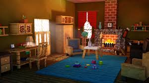 living room minecraft by alexbroanimator on deviantart