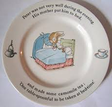 wedgewood rabbit wedgwood rabbit beatrix potter 7 plate kitchen