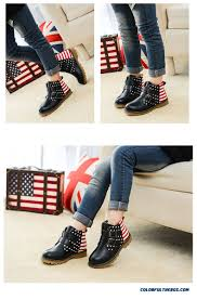American Flag Shoes Cheap New American Flag Boys Winter Warm Shoes Clearance Boys