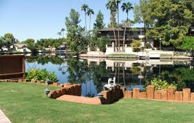 phoenix arizona waterfront homes the lakes in tempe waterfront