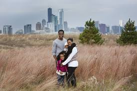 Best Places For Family Best Places To Do Family Photos With The Chicago Skyline In The