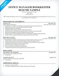 sample resume of office manager a well written resume example that