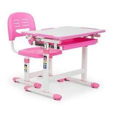 hauteur bureau enfant oneconcept annika set bureau pour enfant table chaise hauteur