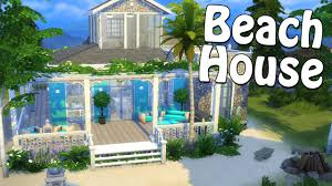 the sims 4 beach house speed build let u0027s build a beach house