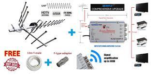 hdtv catv digital tv antenna signal end 10 24 2017 4 13 pm