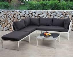 sofa garnitur 3 teilig gã nstig poly rattan sofa garnitur delphi sitzgruppe lounge set stahl