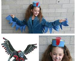 Flying Monkey Halloween Costume Flying Monkey Wings Etsy