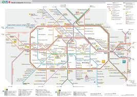 Barcelona Subway Map by Map Of Berlin Subway Underground U0026 Tube U Bahn Stations U0026 Lines