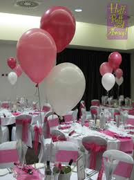 Pink Balloon Decoration Ideas Huff Puff Balloons Colour Combinations