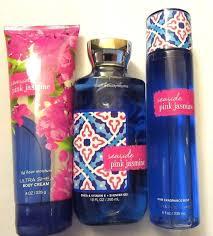 bath body works seaside pink jasmine body cream shower gel mist bath body works seaside pink jasmine body cream shower gel mist lot 3 new