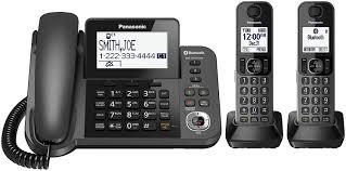 Panasonic Help Desk Amazon Com Panasonic Kx Tgf382m Dect 2 Handset Landline