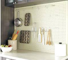 kitchen pegboard ideas peg board kitchen pegboard drawer organizer the moute