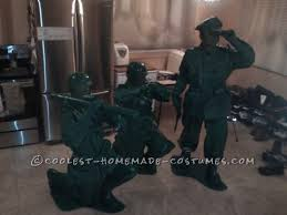 Army Men Halloween Costume Coolest Homemade Plastic Toy Soldier Costumes