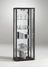 glass cabinet glass display cabinet ebay