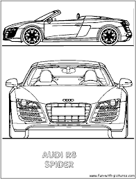 r8 spider coloring page