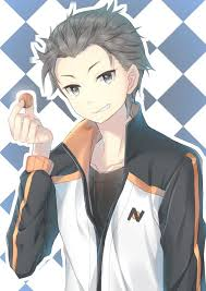 subaru anime character re zero subaru re zero pinterest subaru anime and hottest anime