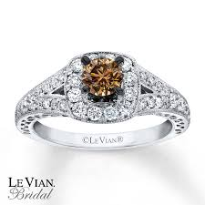 levian wedding rings le vian engagement ring 3 4 ct tw diamonds 14k vanilla gold
